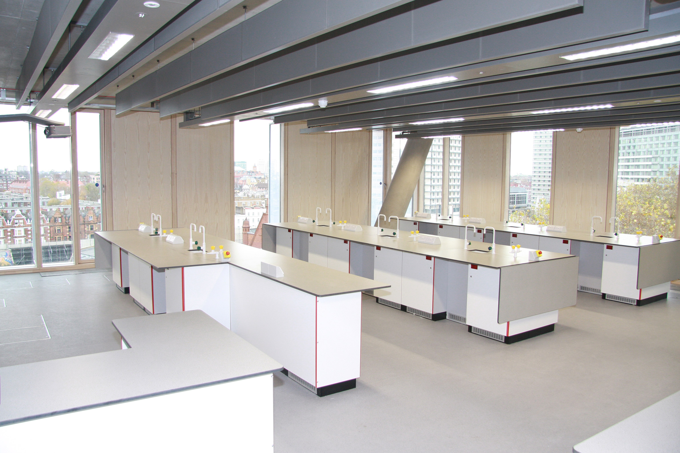 City Of Westminster College Lab Systems Furniture